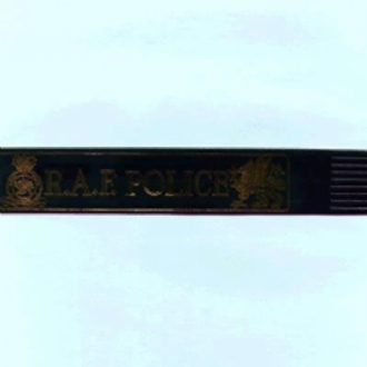 RAF POLICE LEATHER BOOKMARK - VARIOUS COLOURS