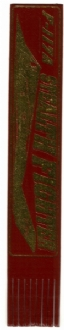 F-117A LEATHER BOOKMARK - VARIOUS COLOURS