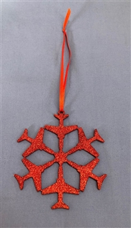 HAWK SNOWFLAKE DECORATION