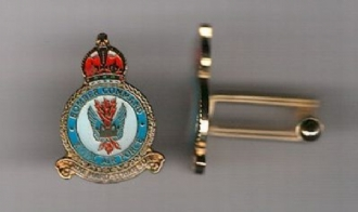 BOMBER COMMAND CREST CUFFLINKS