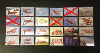RED ARROWS MAGNET
