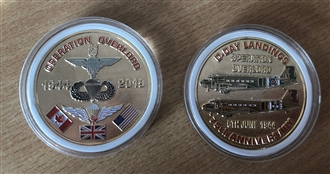 D-DAY LANDINGS 75TH ANNIVERSARY COIN
