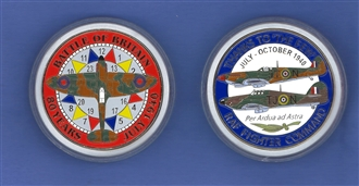BATTLE OF BRITAIN 80TH ANNIVERSARY COIN