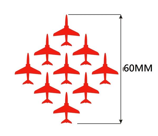 Red Arrows Diamond 9 Logo Fleece
