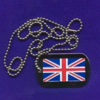 UJ DOG TAG WITH CHAIN