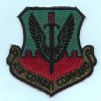 AIR COMBAT COMMAND CREST (SUBDUED)