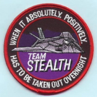 F-117A NIGHTHAWK TEAM STEALTH