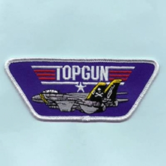 TOP GUN (TP) WITH F-14 OVAL