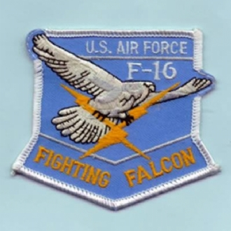 F-16 SHIELD SHAPE - USAF