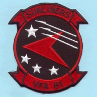 VFA-81 SUNLINERS RED/BLACK