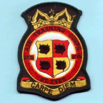 2331 ATC OFFICIAL CREST EMBROIDERED BADGE