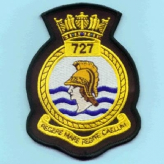 727 NAS OFFICIAL CREST