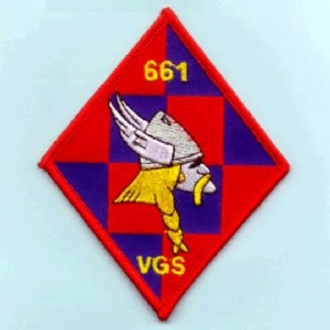 661 VGS EMBROIDERED BADGE