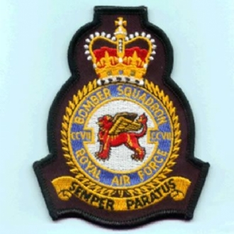 207 BOMBER SQN OFFICIAL CREST