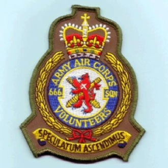 666 SQN AAC OFFICIAL CREST