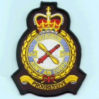 654 SQN AAC OFFICIAL CREST