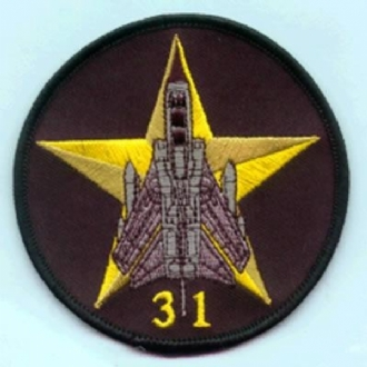 31 SQN OPS EMBROIDERED BADGE