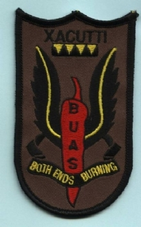 BRISTOL UAS BOTH ENDS EMBROIDERED BADGE