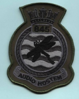 845 NAS CREST SUBDUED BADGE