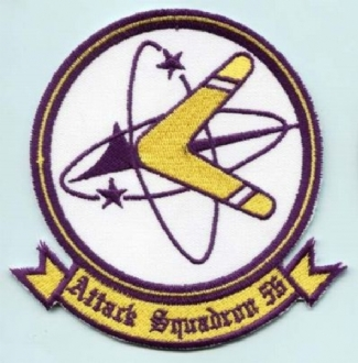 VA-56 EMBROIDERED BADGE