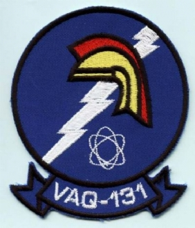 VAQ-131 EMBROIDERED BADGE