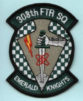 308 FS EMBROIDERED BADGE