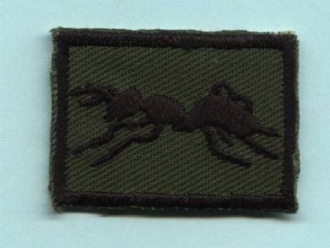 UNIT SUPPLY SQN (ANT) EMBROIDERED BADGE