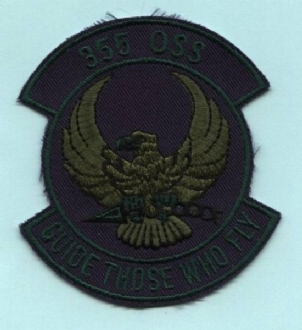 355 OSS EMBROIDERED BADGE