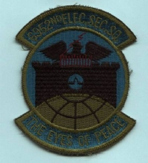 6952 ESS EMBROIDERED BADGE