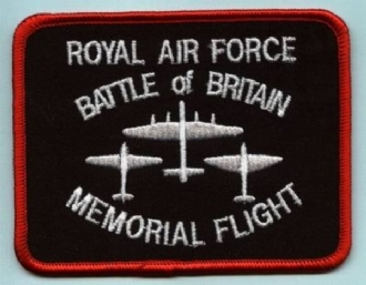 BBMF SQUARE EMBROIDERED BADGE
