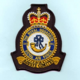 32 (THE ROYAL) SQN CREST