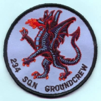 234 SQN GROUNDCREW (ROUND)