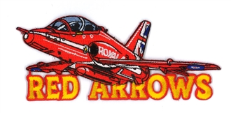 RED ARROWS + WORDS CUT TO SHAPE