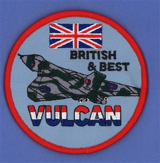 VULCAN BRITISH AND BEST (VELCRO)