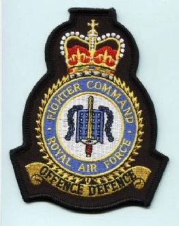RAF FIGHTER COMMAND CREST