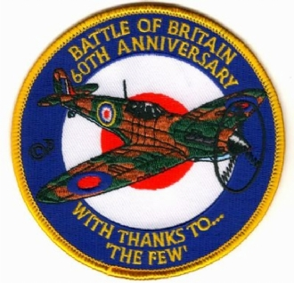 BATTLE OF BRITAIN 60TH ANNIVERSARY