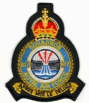 617 SQN CREST KINGS CROWN