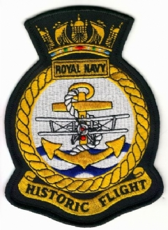 RN HISTORIC FLIGHT CREST