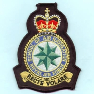 RAF SCHOOL OF AIR NAVIGATION CREST
