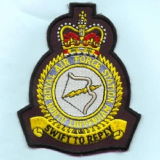 RAF NORTH LUFFENHAM CREST