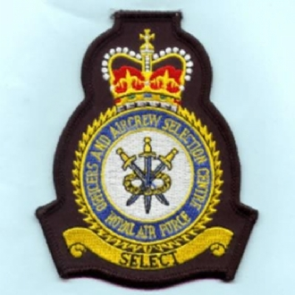 RAF OFFICERS & AIRCREW SC CREST