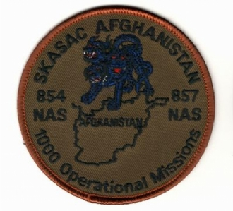 SKASAC AFGHANISTAN EMBROIDERED BADGE