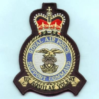 RAF SUPPORT COMMAND CREST