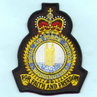 RAF WADDINGTON CREST (BLACK)