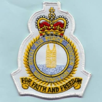 RAF WADDINGTON CREST (WHITE)