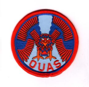 OXFORD UAS EMBROIDERED BADGE