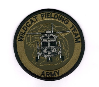WILDCAT FIELDING TEAM EMBROIDERED BADGE