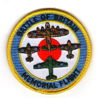 BBMF ROUNDEL EMB BADGE WITH VELCRO (75mm)