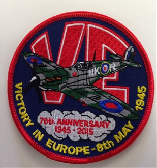 VE 70TH ANNIVERSARY BADGE