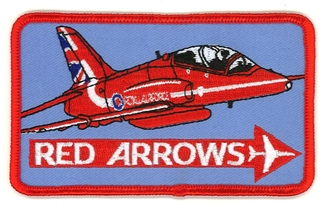 RED ARROWS - SINGLE JET (2015 TAIL) BADGE